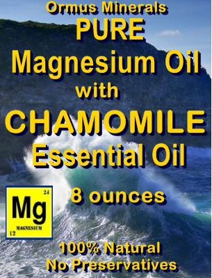 Ormus Minerals -Pure Magnesium Oil with CHAMOMILE EO
